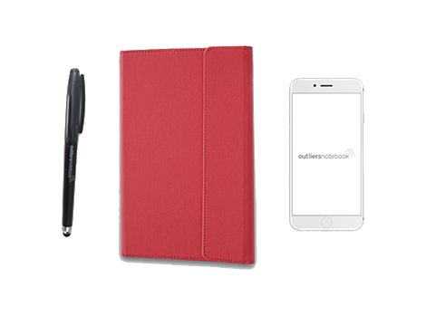 Eigenschaften das wiederverwendbare Notizbuch Outliers Notebook