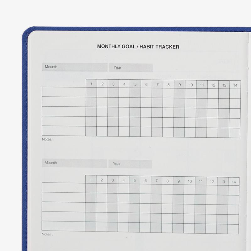 Outliers Notebook - Das wiederverwendbare Notizbuch - Blau