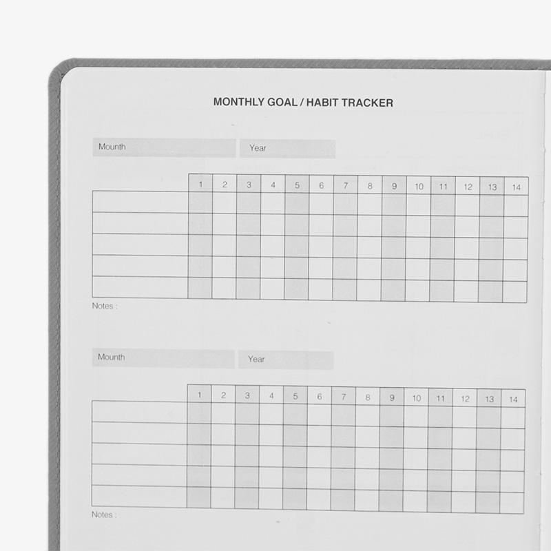 Outliers Notebook - Das wiederverwendbare Notizbuch - Hellgrau