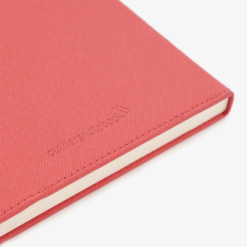 Outliers Notebook - Das wiederverwendbare Notizbiuch - Rot