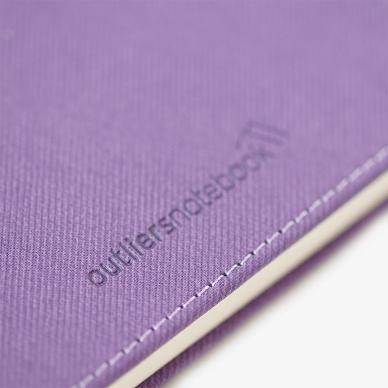 Outliers Notebook - Das wiederverwendbare Notizbuch - Violett