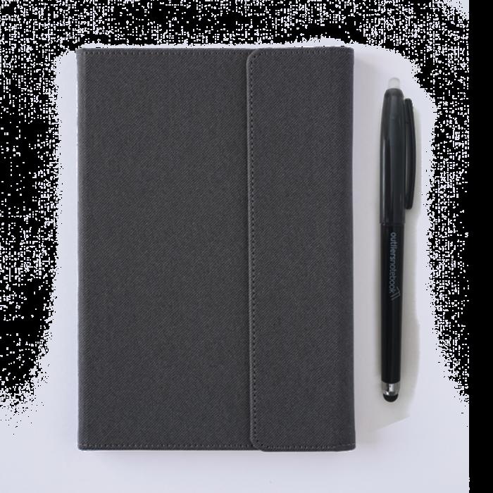 Outliers Notebook - Das wiederverwendbare Notizbuch - DUNKELGRAU
