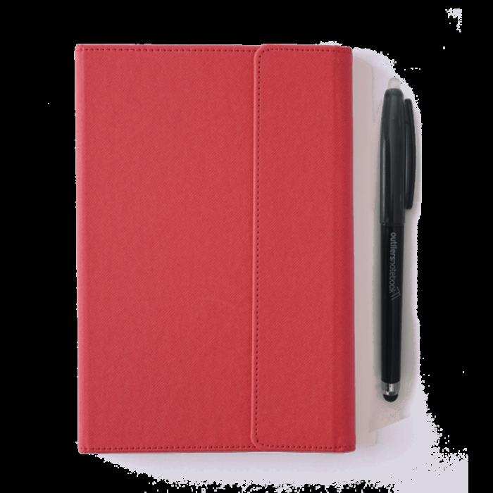 Outliers Notebook - Das wiederverwendbare Notizbuch - ROT