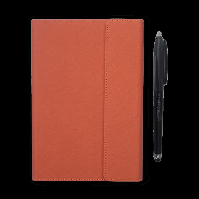 Outliers Notebook Orange
